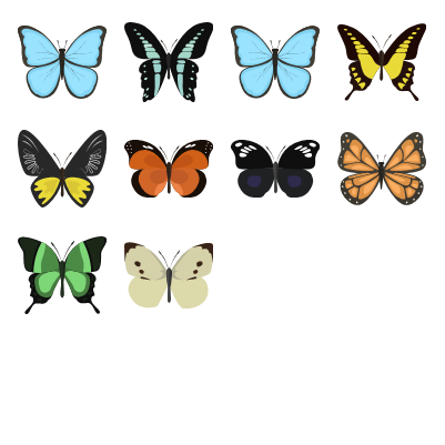 Butterflies Preview Small