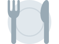 Fork and Knife with Plate