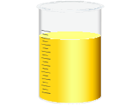 Graduated Cylinder Yellow