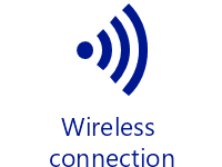 Wireless connection (opaque)
