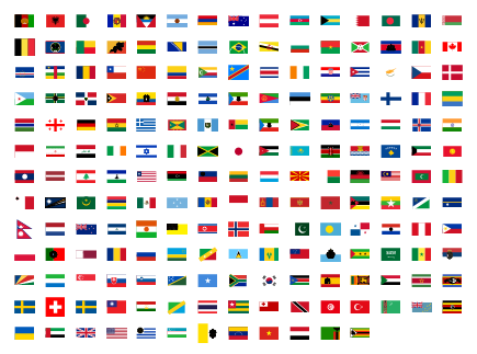 Flag Shapes Preview Small