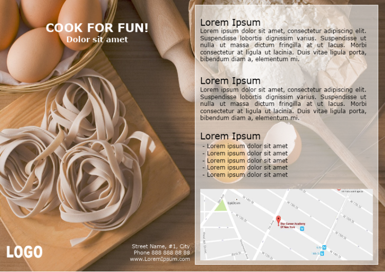 Cook for Fun Brochure