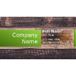 Wood Background Business Card thumb
