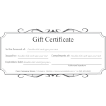 Classic Gift Certificate thumb