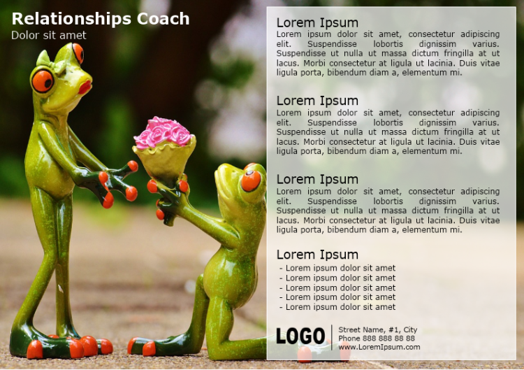 Relationships Coach Brochure
