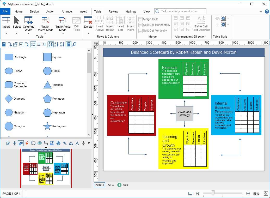 MyDraw - Advanced Diagramming Software