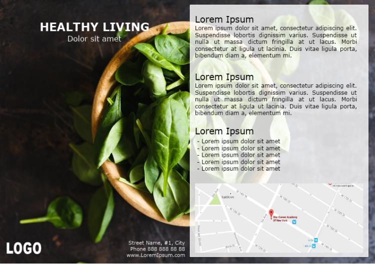 Healthy Living Brochure