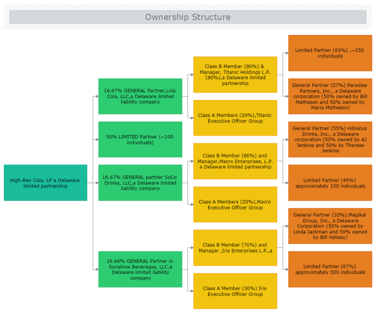 ownership structure chart mydraw