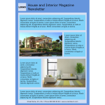 House And Interior Magazine Nesletter thumb