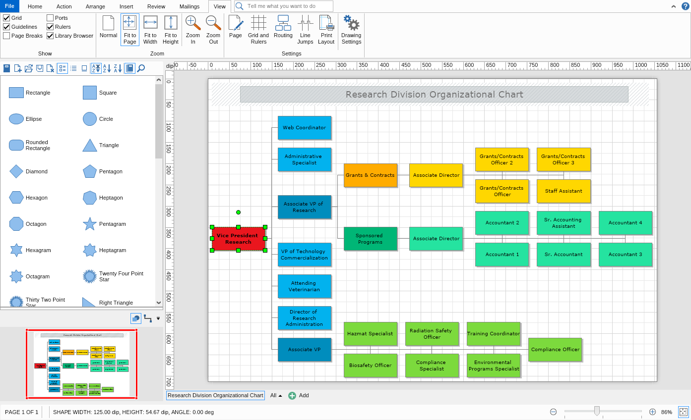 solutions for diagramming and business visualization